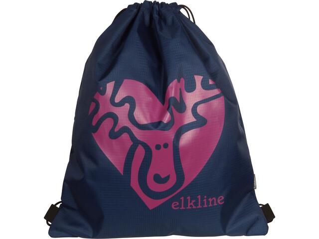 Elkline Büdelchen Gym Bag navy-berry